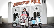 Quadrophenia Star Phil Daniels Opens 'Brighton Pier' At Goodwood Motor Circuit Ahead Of 2014 Revival Meeting
