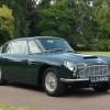 Aston Martin Exhibits At London Classic Car Show