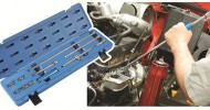 Comprehensive set of extension bars & accessories to reach the most inaccessible of fasteners