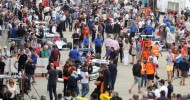 It's showtime Saturday at the stunning Silverstone Classic