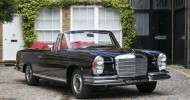 Rare 1970 Mercedes-Benz 280 Cabriolet Goes On Sale