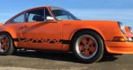 1973 Porsche Carrera RS 2.7 surfaces after 10 year hibernation