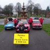 UK Start  For Monte Carlo Classic Car Rally