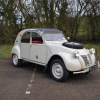 Sahara crossing Citroen 2CV seeks new home