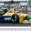 Schumacher and Piquet's Grand Prix Cars OFFERED AT CLASSIC Car Sale