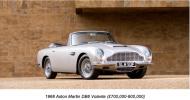 Bonhams Announces 18th Annual Aston Martin Sale