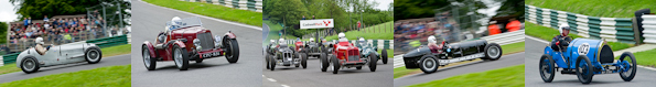 Vintage Classic Car Race at Cadwell Park