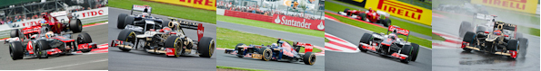 2012 Silverstone Formula One Grand Prix Race Gallery