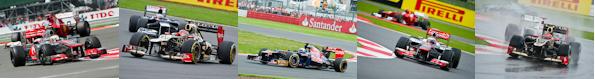 2012 Silverstone Formula One Grand Prix Race Gallery