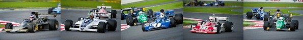Historic Formula One Gallery – Silverstone 2012