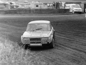 Will Gollop's SAAB at Lydden Hill in 1976