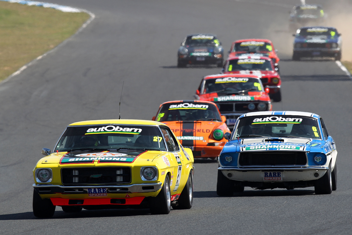 The Masters Look To Bring Home Tasman Trophy At Muscle Car Masters