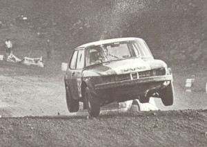 Classic Rallycross SAAB raced by Will Gollop