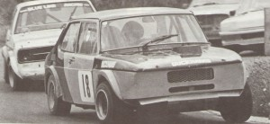 Rallycross SAAB 99 raced by Will Gollop