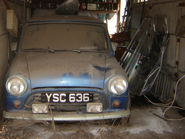 Barons British Heritage Sale At Sandown Park On September 18th Features A Barn Find Restoration Project That Should Prove Irresistible For Any Mini
