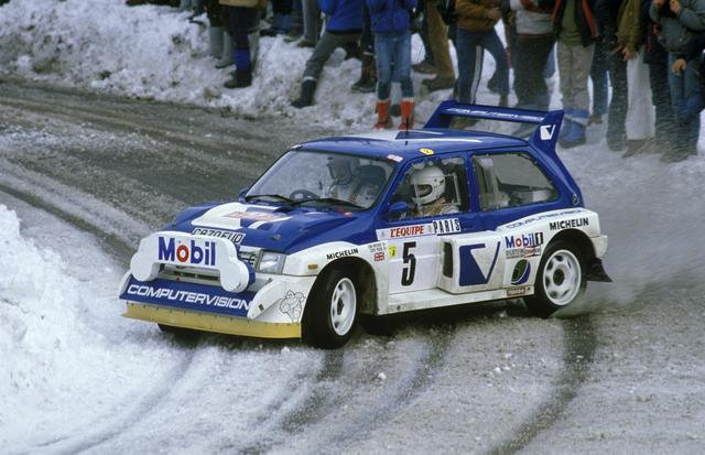 Image result for mg metro 6r4 rally car