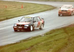 Silkolene Peugeot 309 driven by Will Gollop