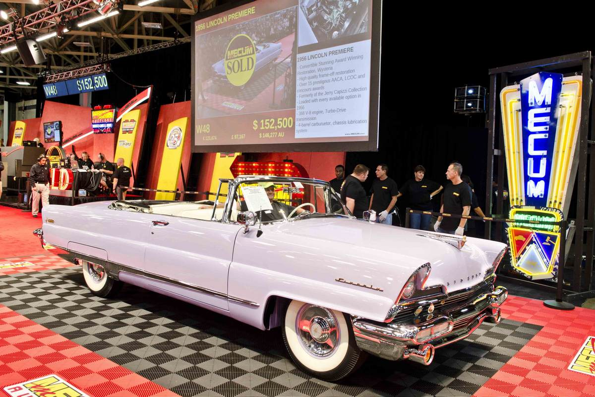 The Classic Cars of Hallbrook Sends Mecum Dallas Into High Gear ...