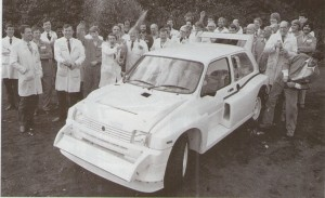 Last MG Metro 6R4 off the production line