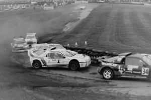 Rallycross final - Brands Hatch