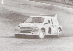 Steve Palmer's 1990 MG Metro 6R4