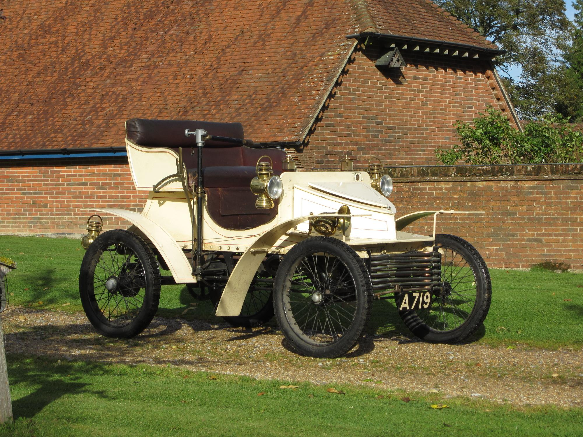 Worlds Oldest Surviving Vauxhall To Be Offered For Sale At Bonhams ...