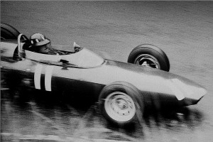 Graham Hill with BRM 1962 at the Nürburgring