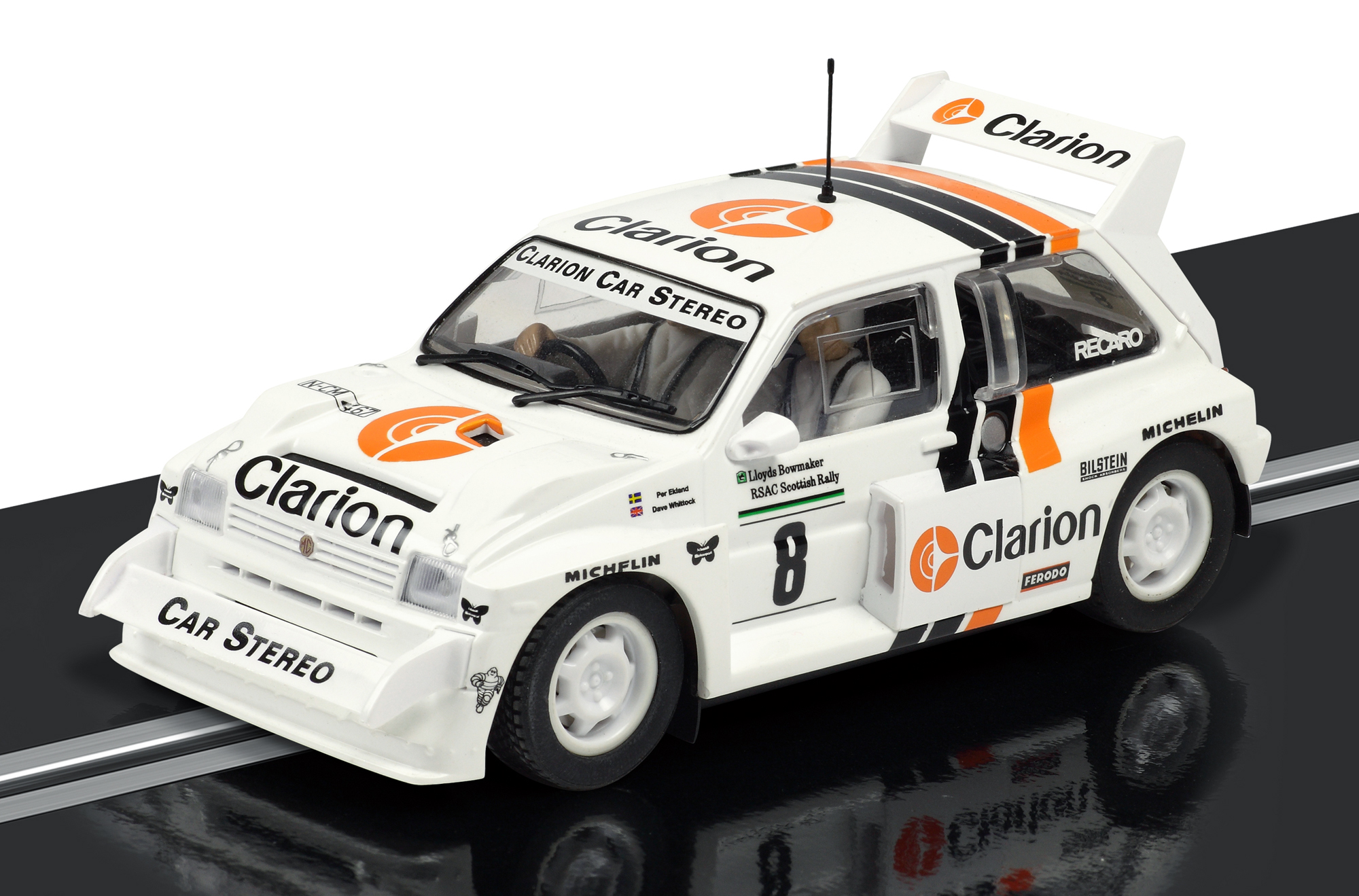 New Scalextric Model - Per Eklunds Clarion MG Metro 6R4 | Classic ...