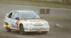 John Welch in his Vauxhall Astra Xtrac
