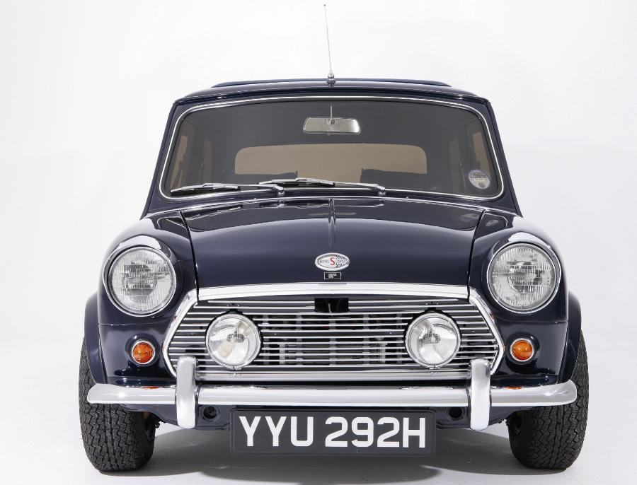 Unique Mini Cooper S Fronts Up Barons\' Sale of Classic Cars ...