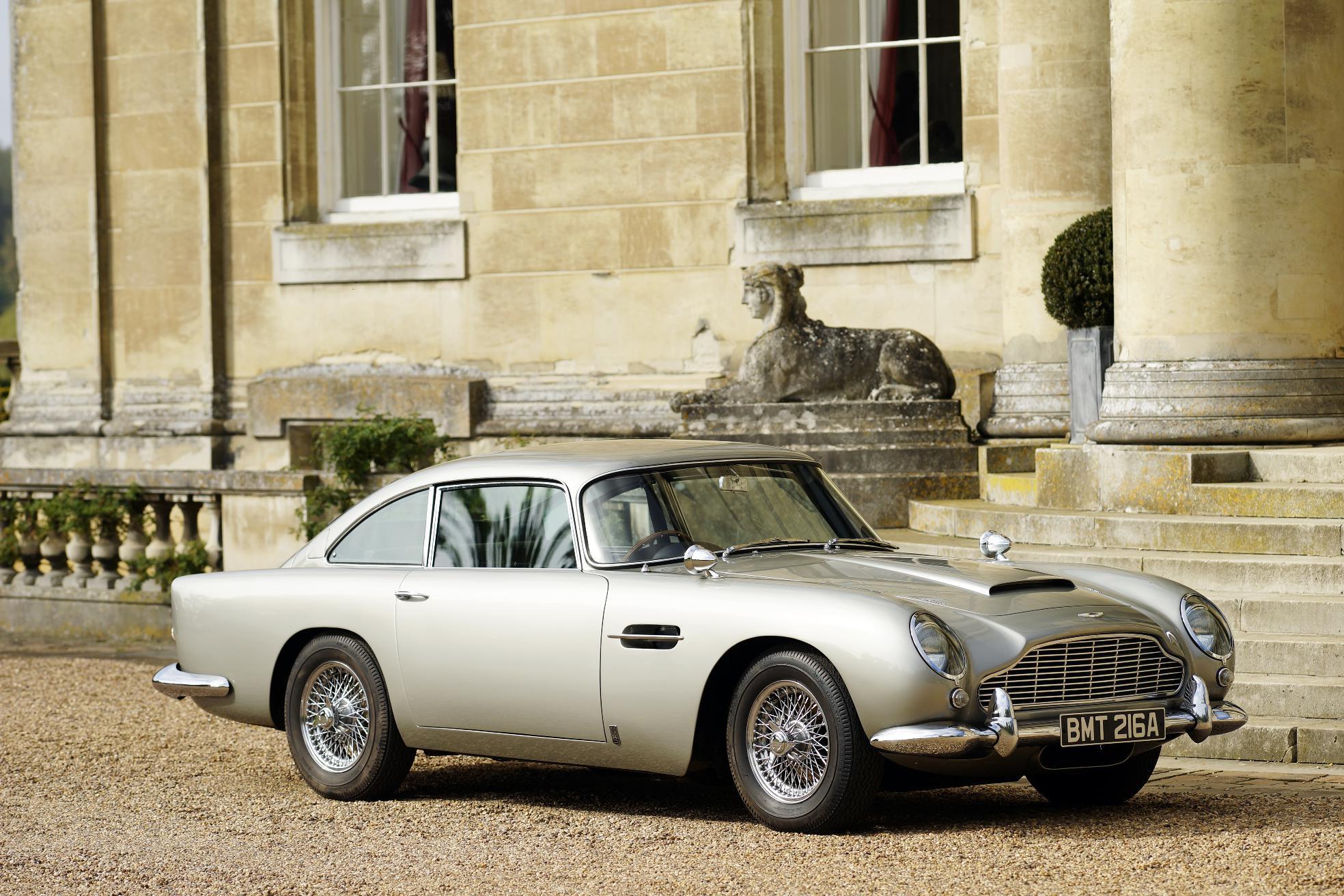 Aston Martin Works Prepares Bond Car For Skyfall