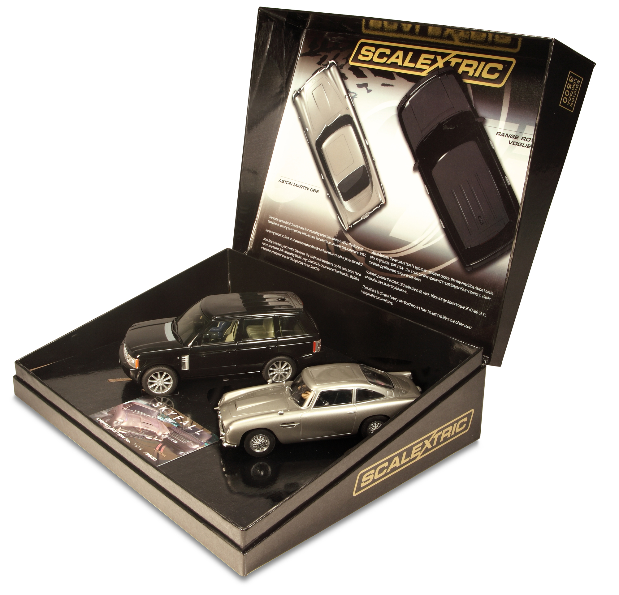 Aston Martin DB5 Skyfall Scalextric Set Launched