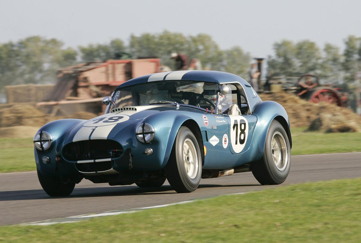 Cobra race at Goodwood Revival