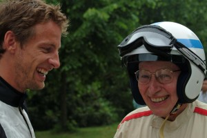 Jenson Button at Goodwood