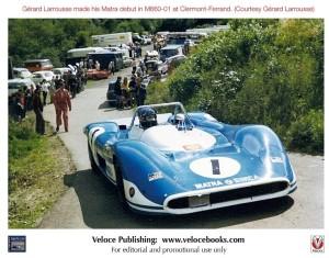 Matra sports cars 1966 to 1974