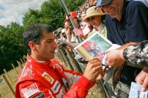 Scuderia Ferrari test driver Marc Gene