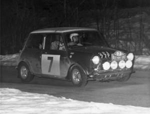 Mini Cooper S 1968 Monte Carlo Rally Driver Timo Makinen