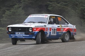 Nick Elliott and Dave Price Ford Escort Mk2