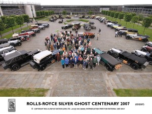 ROLLS-ROYCE CELEBRATES CENTENARY OF THE SILVER GHOST