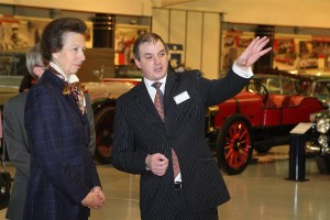 ROYAL OPENING FOR THE HERITAGE MOTOR CENTRE