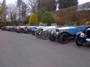 30-98's collect at Gibbons Bridge Hotel
