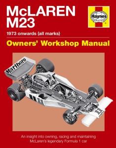McLaren M23 Manual by Ian Wagstaff