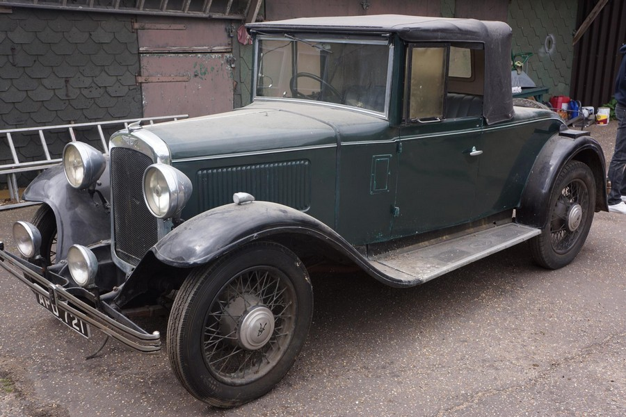 Early Austin 16/6 Harrow Just One Of The Rarities Classic Car Sale ...