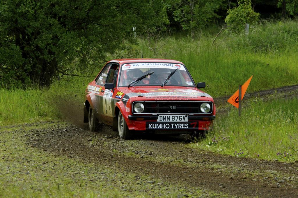 McCormack Triumphs In Carlisle Rally With Mk2 Escort | Classic Car ...