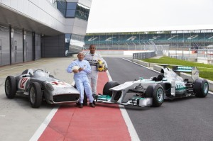 STIRLING MOSS AND LEWIS HAMILTON COMPARE FANGIO'S 1954 FORMULA 1 GRAND PRIX