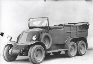 1924 Renault Type MH 'Pioneer Spirit' 6-wheeler
