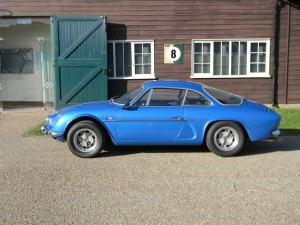 Alpine A110 sports car