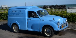 ex-GPO Morris Minor Van