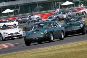 Aston Martin parade