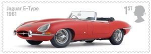 British Auto Legends Jaguar stamp
